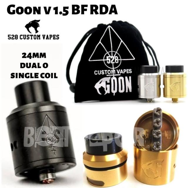 Goon v 1.5 BF RDA (Original) de 528 Custom Vapes en Best Vapor