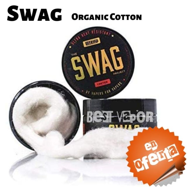 Swag Organic Cotton en Best Vapor - Oferta