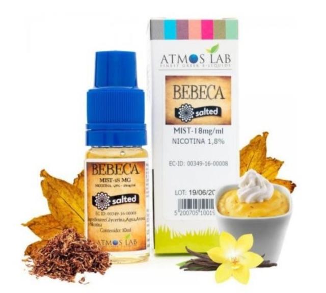 Bebeca (Sales de Nicotina) - Atmos Lab