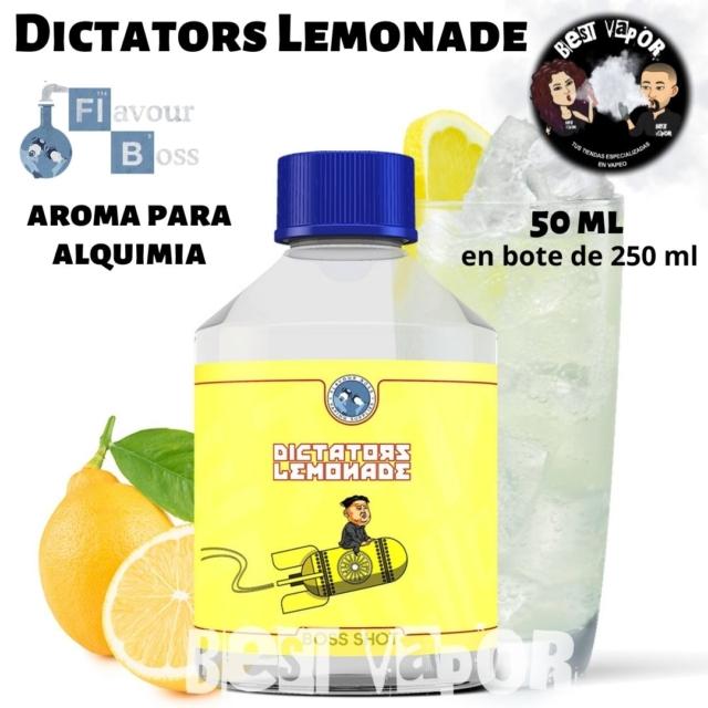 Dictators Lemonade de Boss Shot 250 ml en Best Vapor