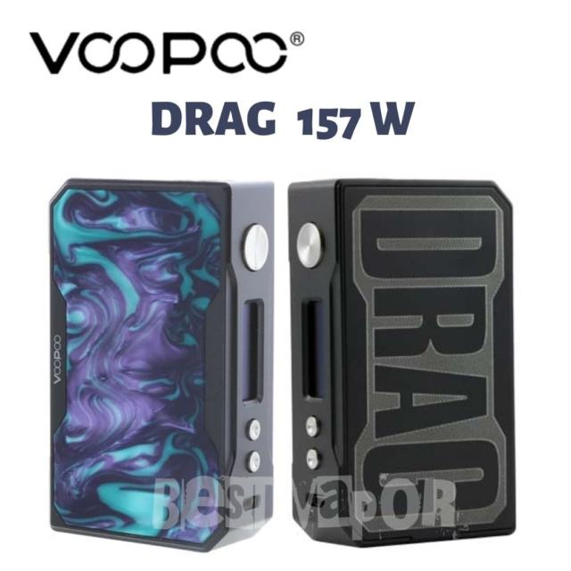 Drag 157 W Voopoo en Best Vapor Outlet
