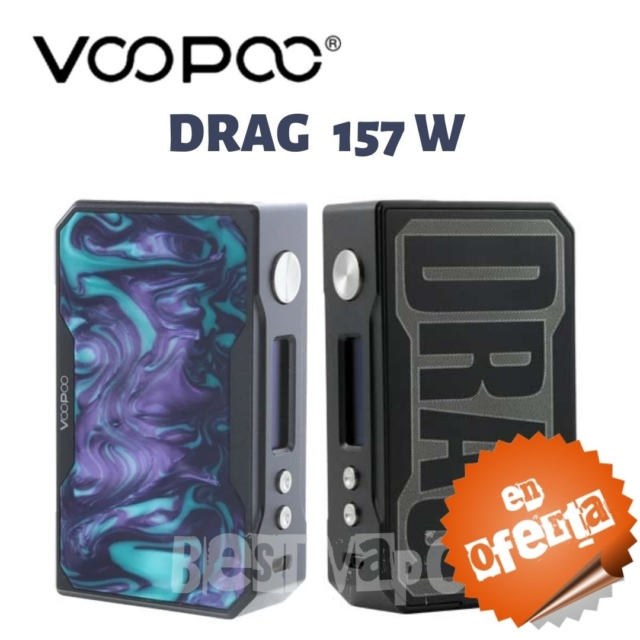 Drag 157w de VooPoo en Best Vapor - Oferta