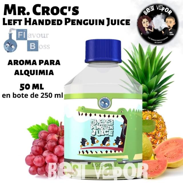 Mr. Croc's Left Handed Penguin Juice de Boss Shot en Best Vapor