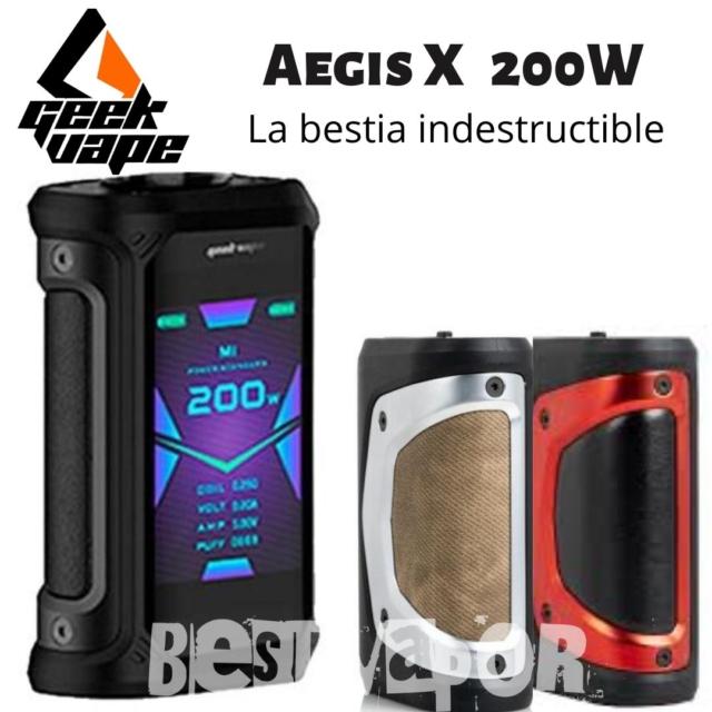Aegis Legend Mod 200W - GeekVape en Best Vapor