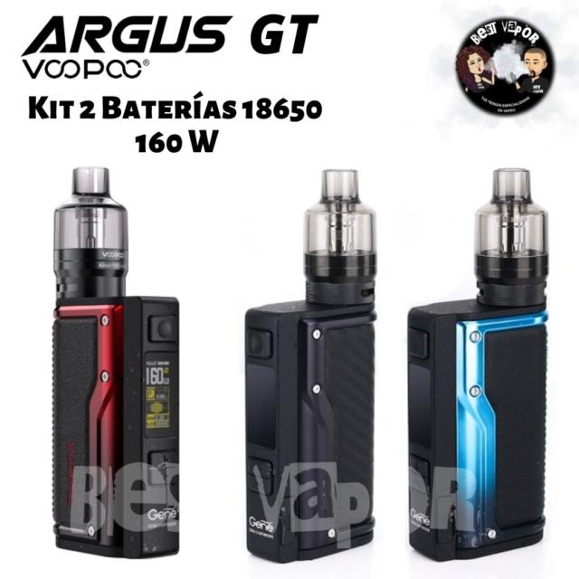 Argus GT Kit con PnP Pod Tank de VooPoo en Best Vapor