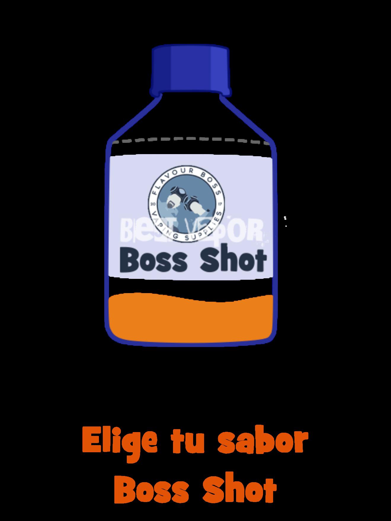 Elige tu sabor Boss Shot de Best Vapor
