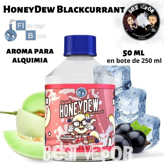 Iced HoneyDew Blackcurrant de Boss Shot 250 ml en Best Vapor