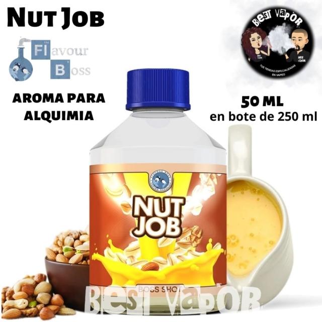 Nut Job de Boss Shot 250 ml en Best Vapor