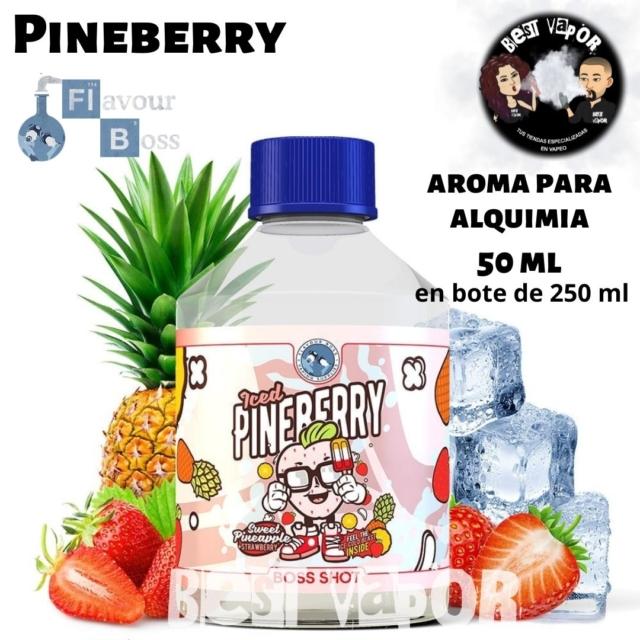 Pineberry de Boss Shot 250 ml en Best Vapor