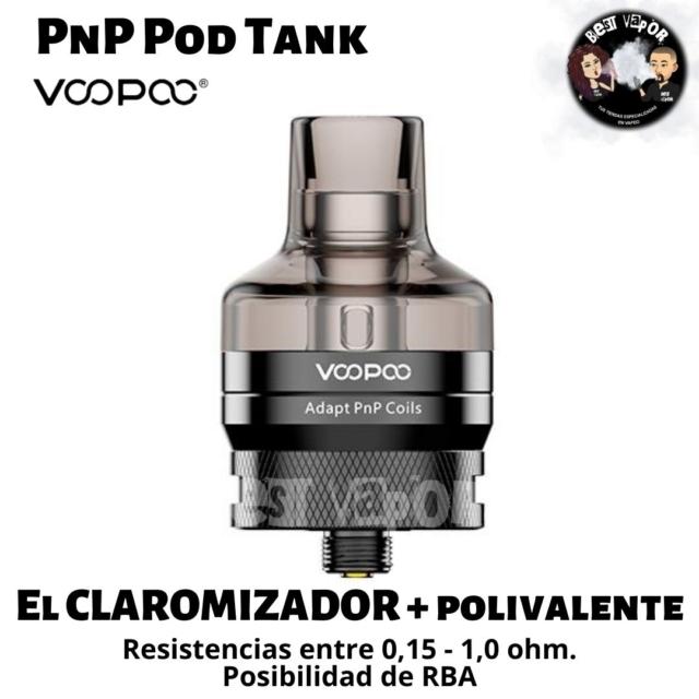 PnP Pod Tank de VooPoo en Best Vapor
