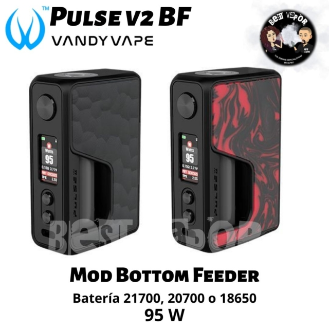 Pulse V2 Bottom Feeder de Vandy Vape en Best Vapor