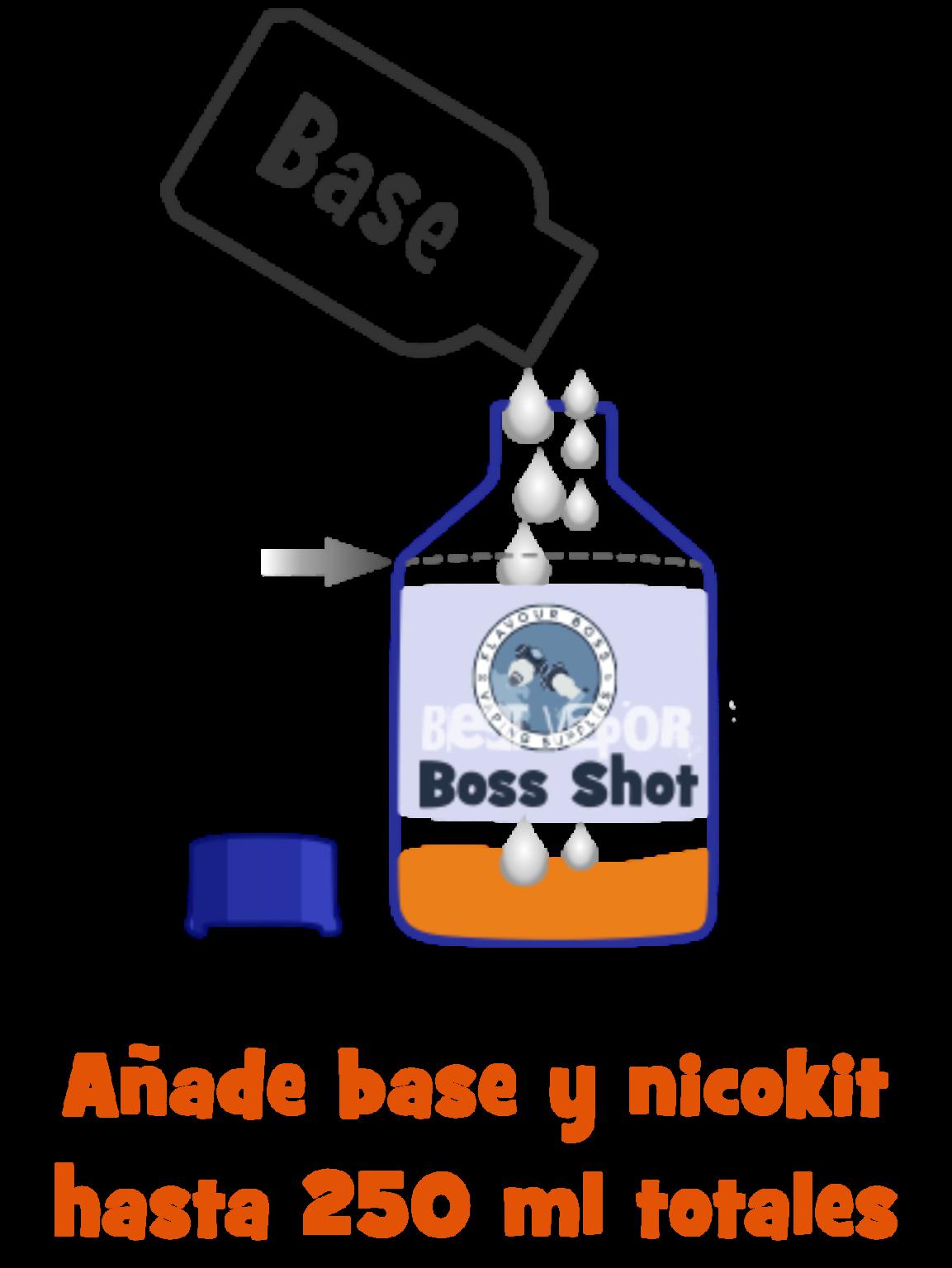Rellena tu Boss Shot de Best Vapor