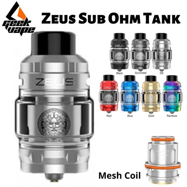 Zeus Sub Ohm Tank - GeekVape en Best Vapor