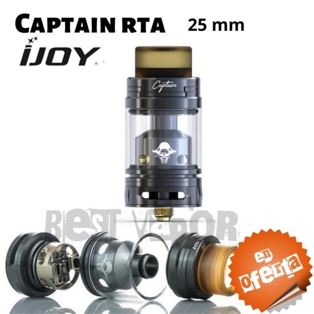 Captain RTA de Ijoy en Best Vapor - Oferta