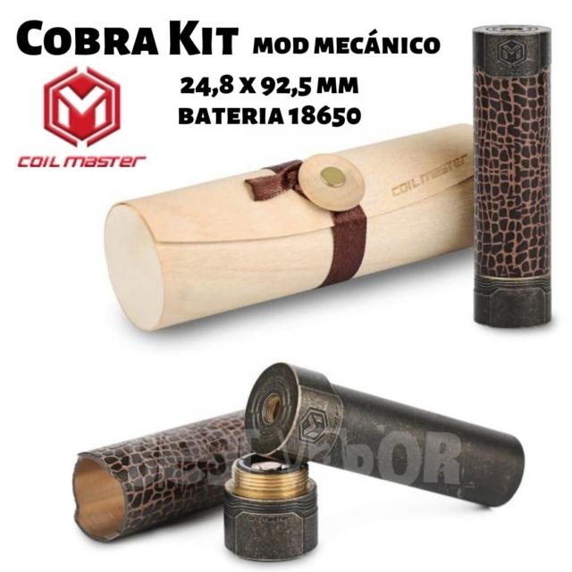 Cobra Kit mod mecanico de Coil Master en Best Vapor