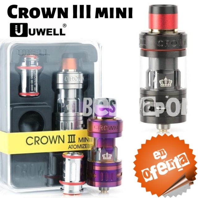 Crown 3 mini de Uwell en Best Vapor