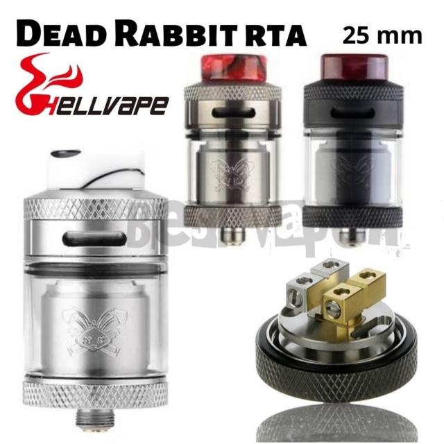 Dead Rabbit RTA de Hellvape en Best Vapor