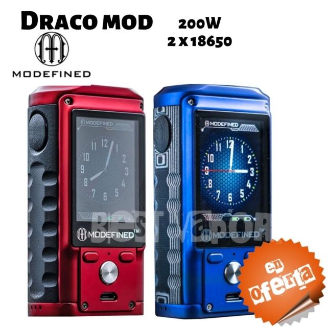 Draco Mod 200w de Modefined en Best Vapor - Oferta