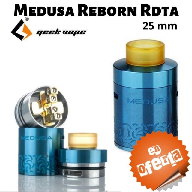 Medusa Reborn RDTA de GeekVape en Best Vapor - Oferta