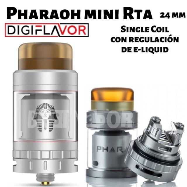 Pharaoh Mini RTA de DigiFlavor en Best Vapor