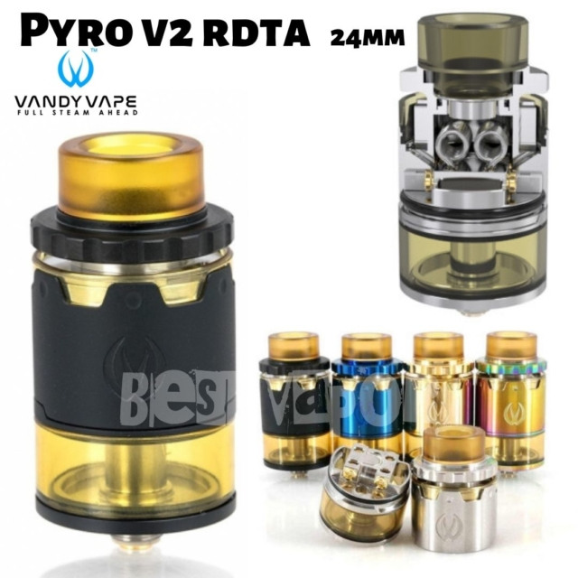 Pyro v2 RDTA de Vandy Vape en Best Vapor