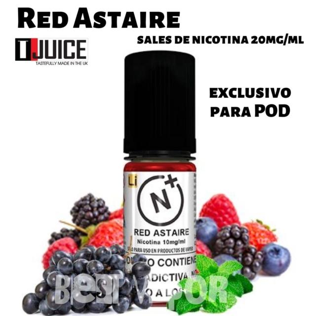 Red Astaire Salts (sales de nicotina) de T-Juice en Best Vapor