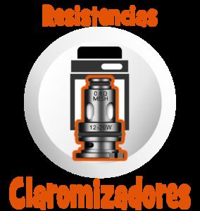 Vapeo Intermedio Resistencias para Comerciales Claromizadores en Best Vapor