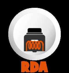 Atomizadores RDA para dripeo o Bottom Feeder BF en Best Vapor