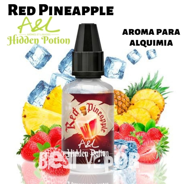 Red Pineapple Hidden Potion de A&L aromes en Best Vapor