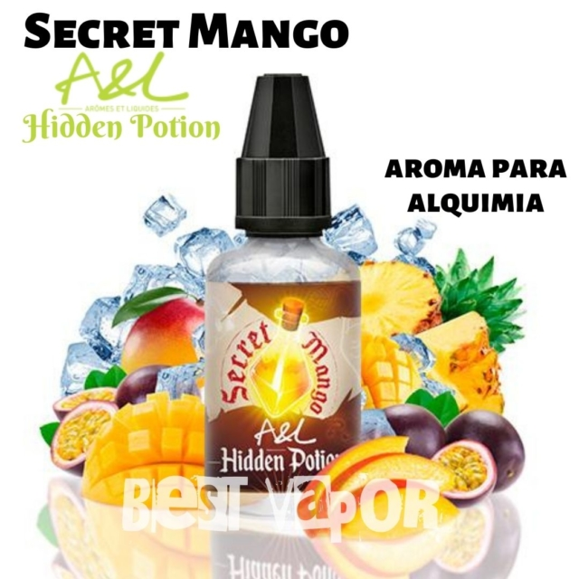 Secret Mango Hidden Potion de A&L aromes en Best Vapor