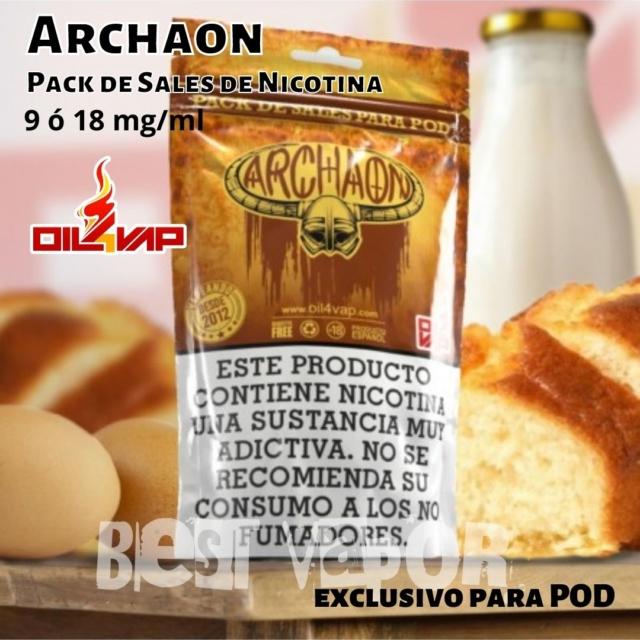 Archaon pack de sales de nicotina de oil4vap en Best Vapor