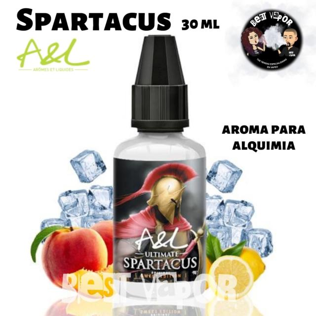Aroma Spartacus 30 ml de A&L aromes en Best Vapor