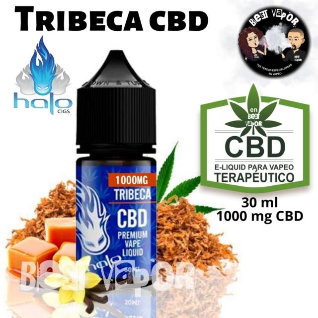 Tribeca CBD 30 ml 1000 mg de Halo e-liquid en Best Vapor