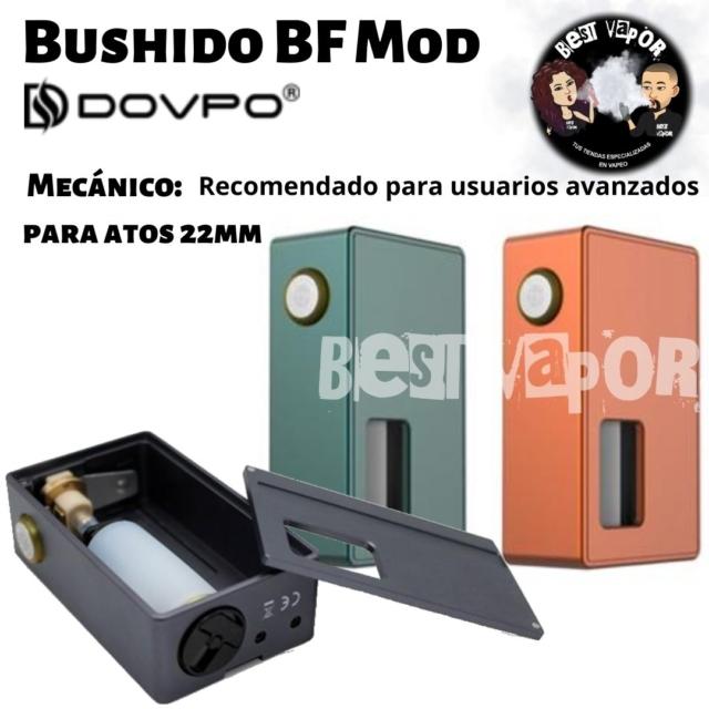 Bushido BF Mod Mecánico de Dovpo en Best Vapor