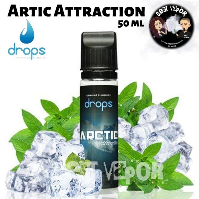Artic Attraction de Drops 50 ml en Best Vapor