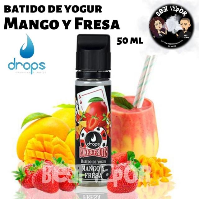 Batido de Yogur de Mango y Fresa de Drops en Best Vapor