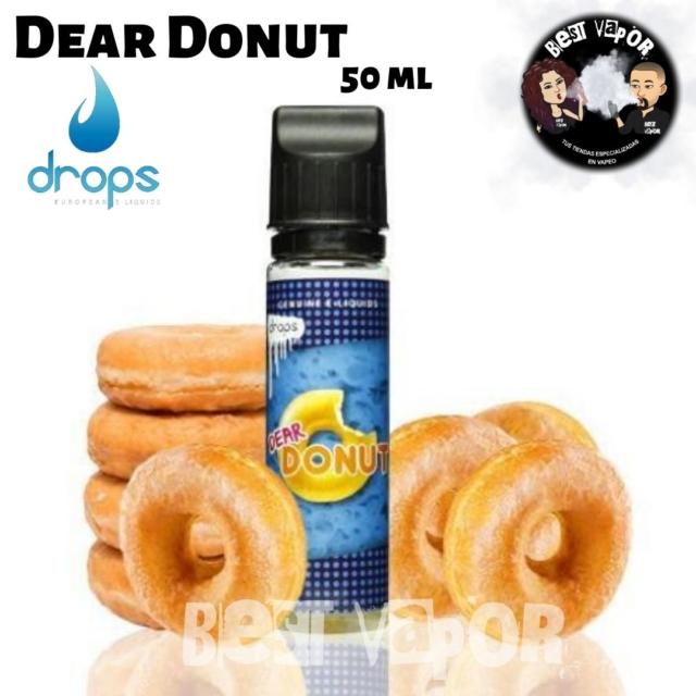 Dear Donut 50ml de Drops en Best Vapor