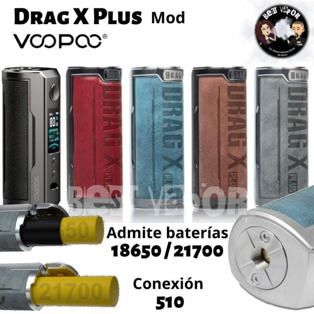Drag X Plus Mod de Voopoo en Best Vapor