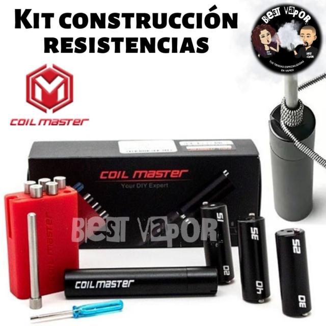 Kit de construcción de resistencias Coiling Kit V4 de Coil Master en Best Vapor