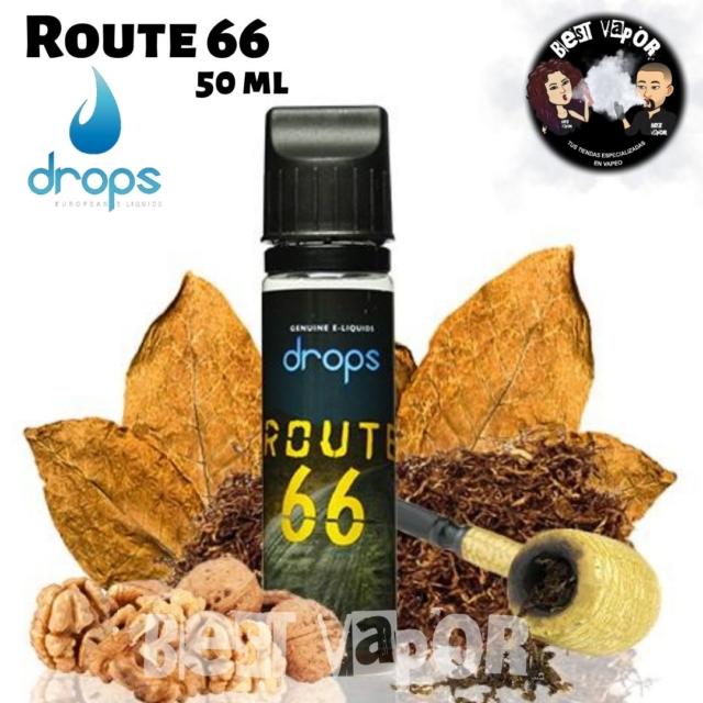 Route 66 de Drops 50 ml en Best Vapor