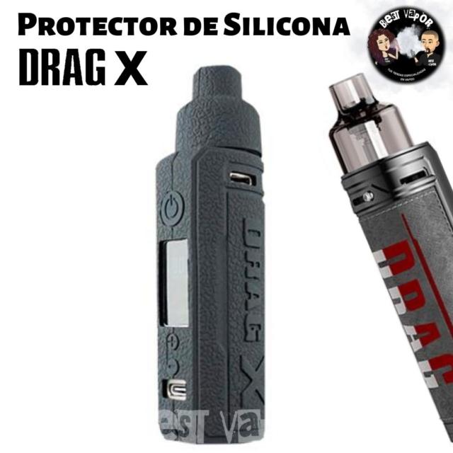 Funda Protector de silicona para Drag X Kit en Best Vapor
