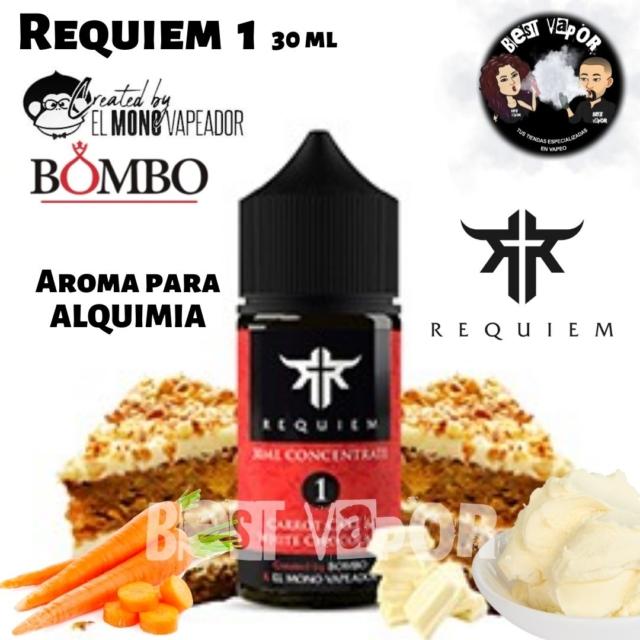 Aroma Requiem 1 de El Mono Vapeador y Bombo en Best Vapor