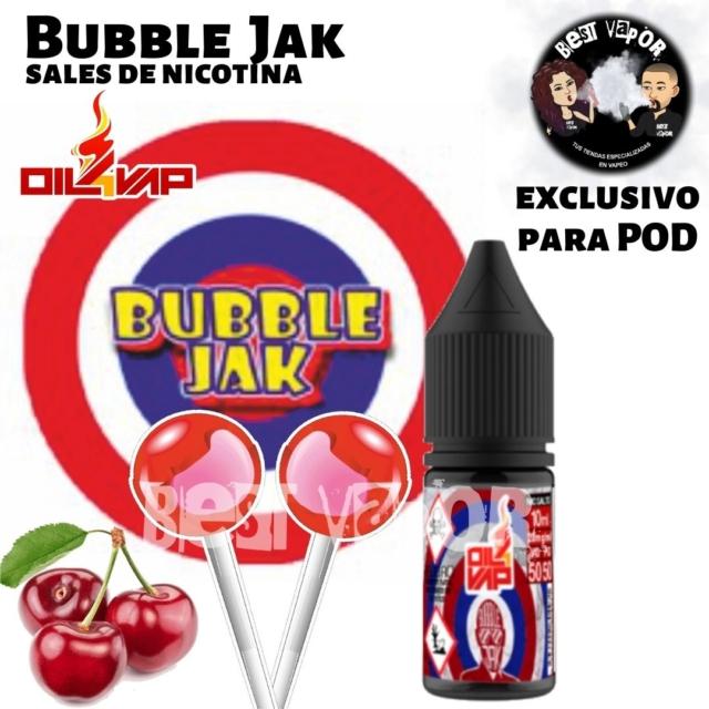 Bubble Jak Sales de nicotina de Oil4Vap en Best Vapor