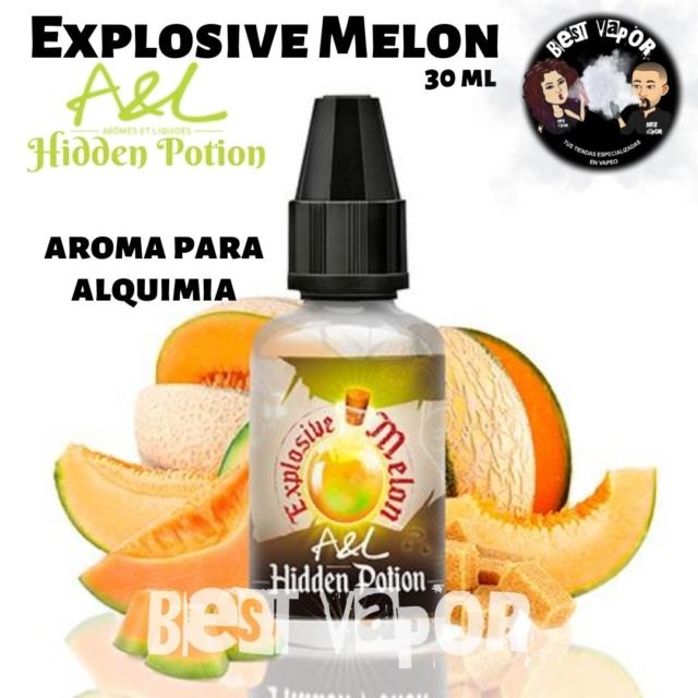 Explosive Melon Hidden Potion de A&L aromes en Best Vapor