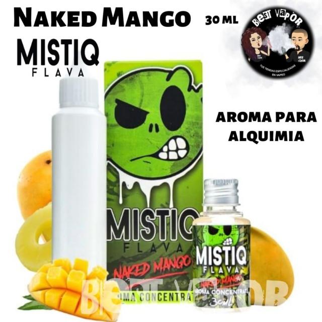 Naked Mango aroma 30 ml de Mistiq Flava en Best Vapor