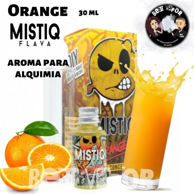 Orange aroma 30 ml de Mistiq Flava en Best Vapor