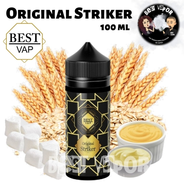 Original Striker 100 ml de Best Vap en Best Vapor